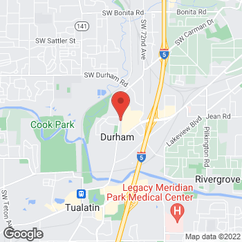 Map of Michael S Blindheim, DMD at 17130 SW Upper Boones Ferry Road, Durham, OR 97224