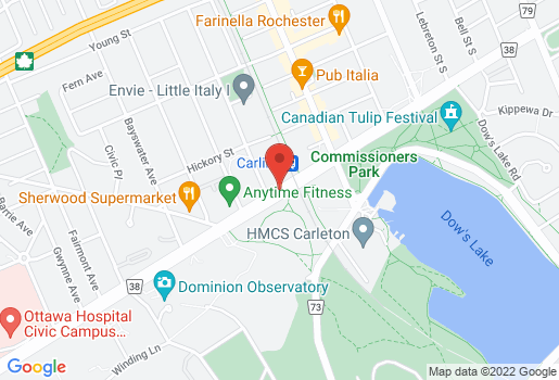 Map of Campbell Steel – Carling Avenue