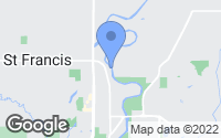 Map of Saint Francis, MN