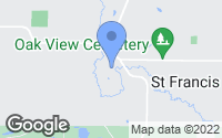 Map of Saint Francis, MN
