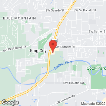 Map of Tuesday Morning at 16200 Southwest Pacific Highway, Tigard, OR 97224