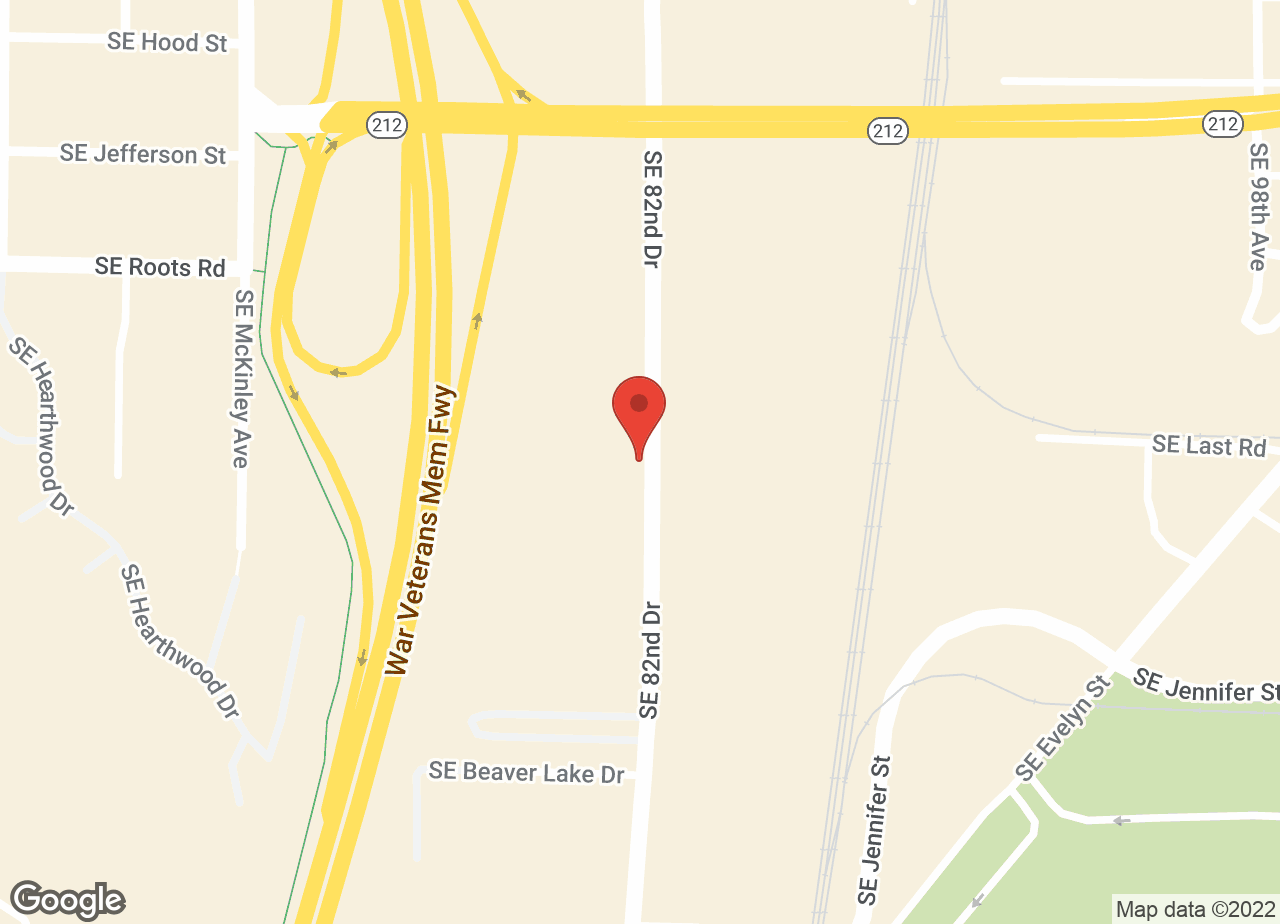 Google Map of VCA Clackamas Animal Hospital