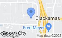 Map of Clackamas, OR