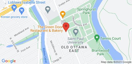 Directions to The Green Door Restaurant