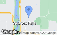 Map of Saint Croix Falls, WI