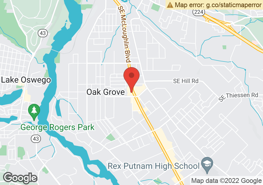 Google Map of 14617 SE MCLOUGHLIN BLVD