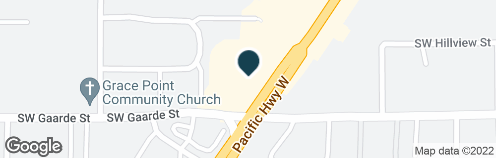 Google Map of13939 SW PACIFIC HWY
