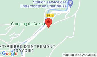 Camping le Cozon 73670 Saint-Pierre-d'Entremont