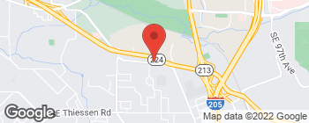 Mapa de 7533 SE Lake Rd en Milwaukie
