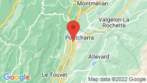 Carte de localisation du centre de contrôle technique PONTCHARRA