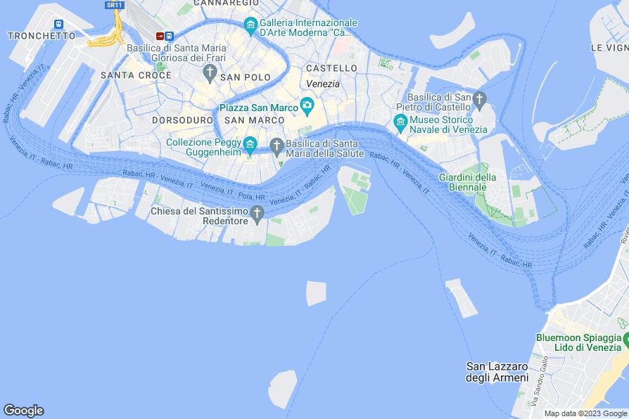 giudecca island venice map - photo#12