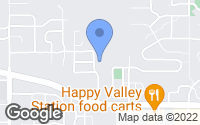 Map of Happy Valley, OR