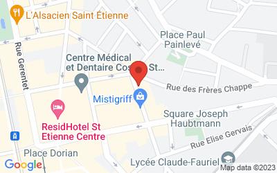 3 rue du jeu de l'arc 42000 Saint-Étienne