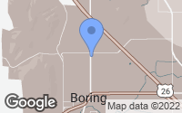 Map of Boring, OR