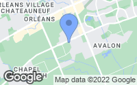 Map of Cumberland, ON