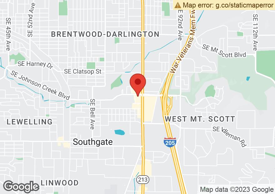 Google Map of 9159 SE 82ND AVE