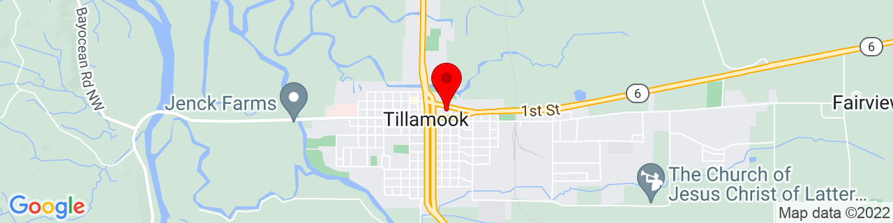 Google Map of 45.4568648, -123.8415243