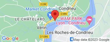 Carte Hôtellerie Beau Rivage - Petit Paumé