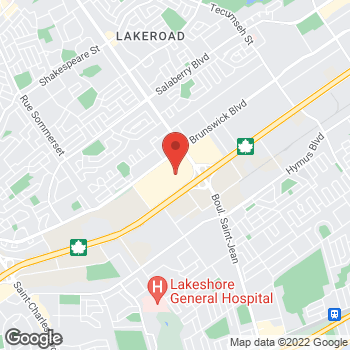 Map of Michael Kors at 6801 Trans Canada Highway, Pointe-Claire, QC H9R 5J2