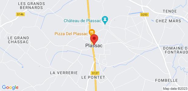 5 ha terrain disponible à la location à Plassac