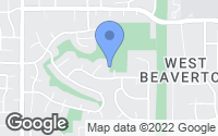 Map of Beaverton, OR
