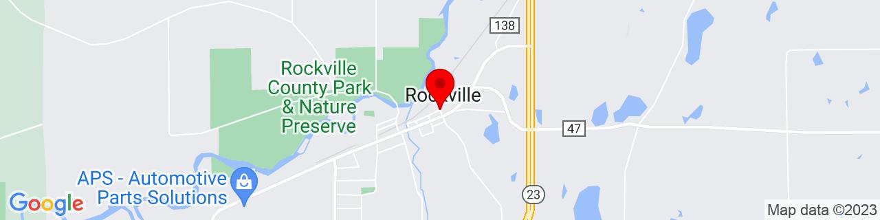 Google Map of 45.473946, -94.3351457