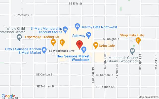 static image of 4431 Southeast Woodstock Boulevard, Portland, Oregon