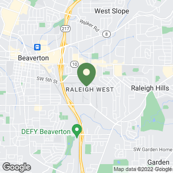 Map of Terminix at 5465 SW Western Avenue, Beaverton, OR 97005