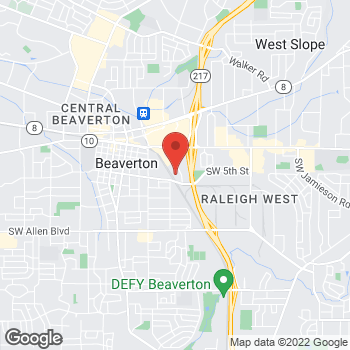 Map of Jonathan J Kim, DDS at 4925 SW Griffith Drive, Beaverton, OR 97005