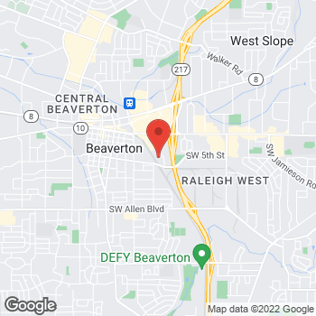 Map of Phuong T Luu, DMD at 4925 SW Griffith Drive, Beaverton, OR 97005
