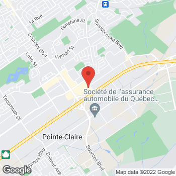 Map of Bureau en Gros Des Sources at 3165 des Sources, Dorval, QC H9B 1Z6