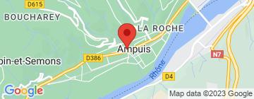 Carte Domaine Barge - Petit Paumé