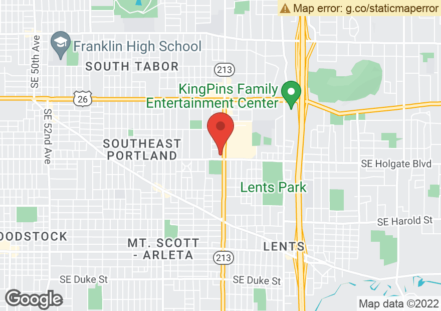 Google Map of 4325 SE 82ND AVE