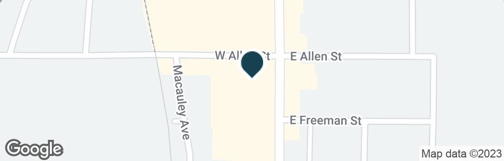Google Map of502 S MAIN ST