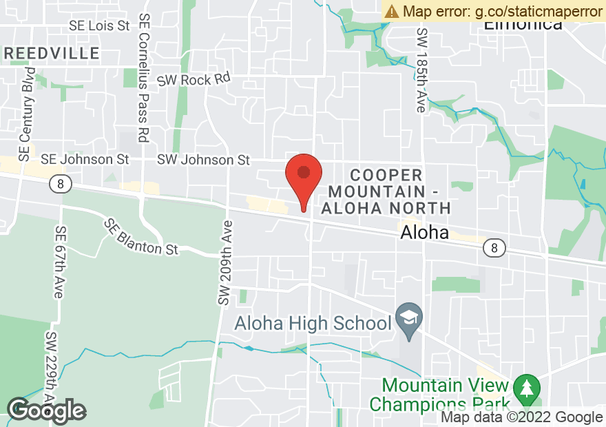 Google Map of 19975 SW TUALATIN VALLEY HWY
