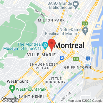 Map of Michael Kors - Closed at 1307 sainte catherine street, Montreal, QC H3G 1P7