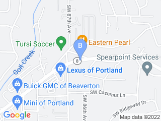 Map of Hug A Bubbas Doggie Daycare   Grooming Dog Boarding options in Portland | Boarding
