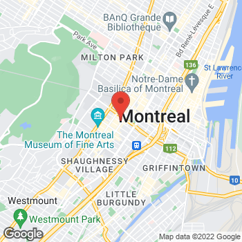 Map of Michael Kors at 1133 Sainte-Catherine St West, Montreal, QC H3B 1H8