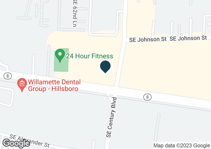Google Map of6215 SE TUALATIN VALLEY HWY