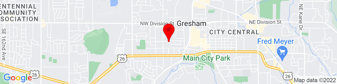 Google Map of 45.50020079999999, -122.4430584