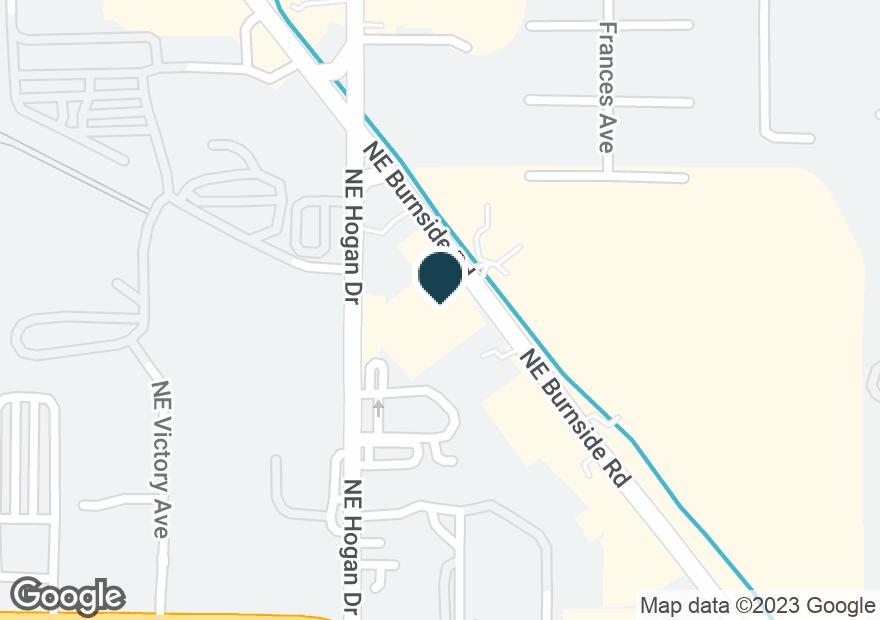 Google Map of1950 NE BURNSIDE RD