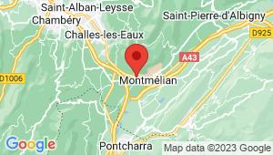 Carte de localisation du centre de contrôle technique FRANCIN