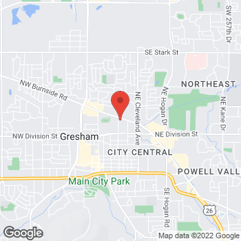 Map of Arby's at 520 Ne Burnside, Gresham, OR 97030