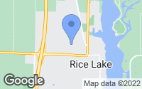 Map of Rice Lake, WI