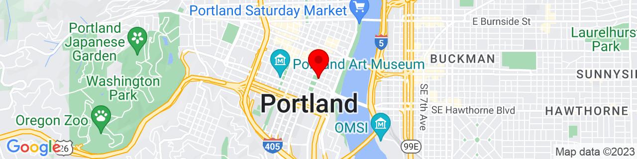 Google Map of 45.5158842, -122.6767461