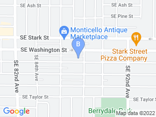Map of Best Paw Forward Pet Sitting LLC Dog Boarding options in Portland | Boarding