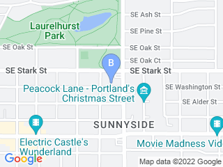 Map of Steffies House Dog Boarding options in Portland | Boarding