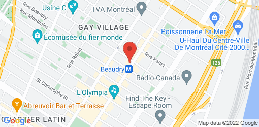 Directions to Restaurant Tendresse