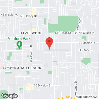 Map of Stephen A Holly, DMD at 13255 SE Stark Street, Portland, OR 97233