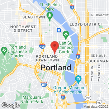 Map of Sunglass Hut at 638 SW Alder Broadway, Portland, OR 97205